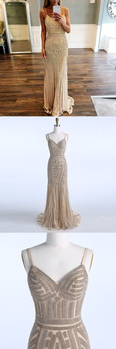 evening dresses, sparkling evening party dresses, elegant v-neck evening gowns with beaded, cheap full beaded evening gowns,