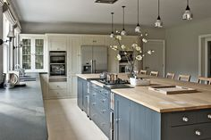 Neptune Kitchen Island:  Radlett Family Home