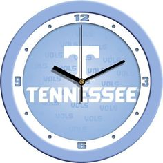 New - Tennessee Volunteers-Baby Blue Wall Clock