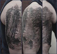 80 water tattoos for men masculine liquid designs cool tattoos pinterest river tattoo. Black Bedroom Furniture Sets. Home Design Ideas