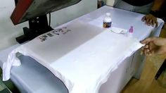 T-shirt Sublimation on 100% Pure cotton