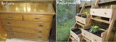 Repurposed Furniture Dresser Drawer - Maybe my honey can make this for me :) Doesn't have to be out of a dresser but I like the repurposing idea!