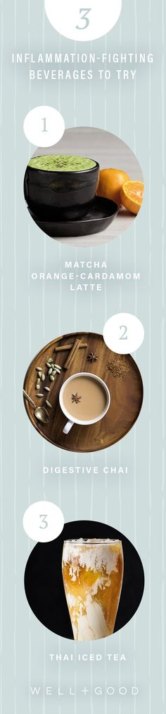 3 inflammation fighting beverage recipes