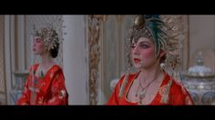 Big Trouble in Little China Blu-ray - Kurt Russell Kim Cattrall Eve Costume, Bride Costume, Halloween Costumes, Halloween 2015, Halloween Ideas, Costume Ideas, Headdress, Headpiece, James Hong