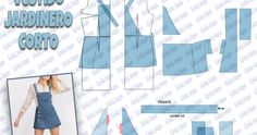 Jardinero Circle Skirt Tutorial, Corduroy Overall Dress, Dress Sewing Patterns, Diy Home Crafts, Blog, Dresses, Inspiration, Style, Ideas