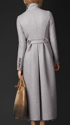 Double Cashmere Topcoat   Burberry