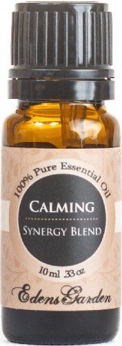 Calming Synergy Blend Essential Oil- 10 ml (Lemongrass, Sweet Orange and Ylang Ylang) by Edens Garden, Mixed into fragrance-free Curel.  Best body lotion EVER!