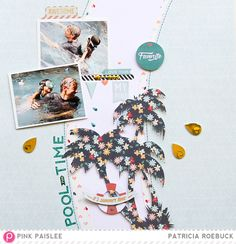 Pool Time Fun | Pink Paislee - Scrapbook.com