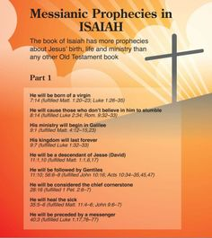 Messianic Prophecies in Isaiah
