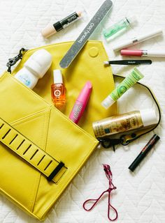 What's in My Fashion Week Beauty Bag + a Giveaway!