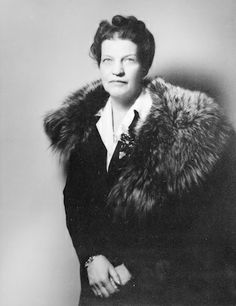 Cairine Reay Wilson (1885-1962) in 1930 she was the 1st woman appointed to the Canadian Senate. http://famouscanadianwomen.com