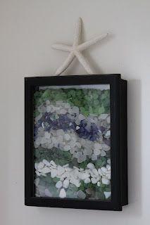 Sea glass inspired decorating the vintage bricoleur: Beach Bathroom