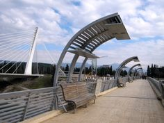 Pedestrian Bridge, gift of Moscow, Podgorica