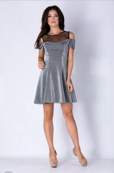 Zonia: Rochii de seara mini, cu maneci scurte – Produse si Marci Cold Shoulder Dress, Dresses, Design, Fashion, Vestidos, Moda, Fasion, Dress