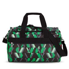 Sporttasche M in der Farbe Chequer Green www.JUMP-4YOU.de