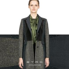 Contemporary Patchwork: The tailored coat.
