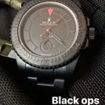 Bamford Watch Department – Customised Luxury Watches – Black Rolex MGTC – BLACK OPS – SUBMARINER