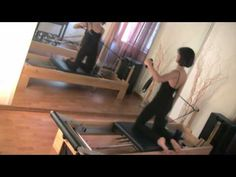 Pilates - Reformer Exercises...one of my favorite workout sequences