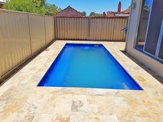 Pool Area In Gwelup. If your pool surrounding needs paving, contact us and get a free quote today! Pool Paving, Brick Paving, Diy Pool Fence, Garden Pool, Artificial Grass Installation, Small Pools, Pool Designs, Spas, Remodeling
