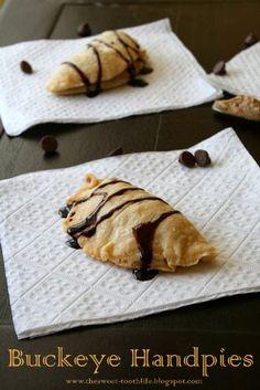The Sweet {Tooth} Life: Buckeye Hand Pies