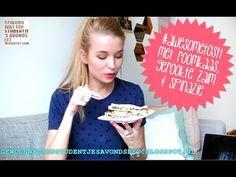 Gewoon wat een studentje 's avonds eet: VIDEO: #Awesometosti met gerookte zalm, kruidenroomkaas en spinazie