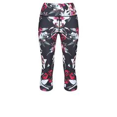 538381f2f002ba Lilly Blossom Capri #Activewear #Gymwear #FitnessLeggings #Leggings  #Tikiboo #Running #