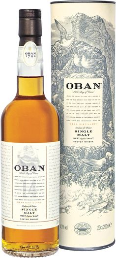 This scotch whisky, which has been aged for 14 years, is the core expression of Oban Distillery, one of the oldest and most storied distilleries in Scotland.