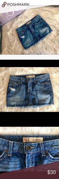 💝 BKE mini skirt 💝 💝 Very cute BKE denim mini skirt in size 26 💝 BKE Skirts Mini