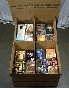 Boxed Shelf Filler - Books by the Foot 60 Books for 11.99
