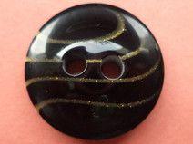 10 Knöpfe schwarz 18mm (1353-3)