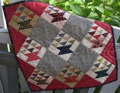 jpg Basket quilt pattern for sale by country lane quilts Star Quilts, Scrappy Quilts, Easy Quilts, Mini Quilts, Children's Quilts, House Quilts, Patchwork Quilting, Quilting Tips, Quilt Book