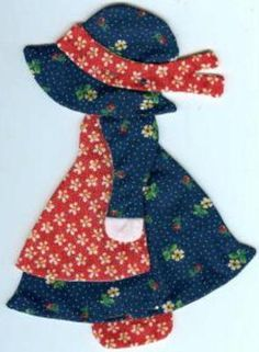 0049 Sunbonnet Sue Quilt Applique Set | eBay