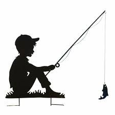 Boy Fishing 10 Best Ideas About Boy Fishing Fish Silhouette Silhouette And More