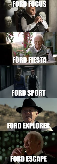 Actor Anthony Hopkins in Westworld