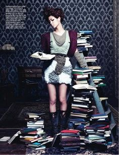 """""""Spider Sweetheart"""" by Kim Bo Sung for Vogue Girl Korea"""
