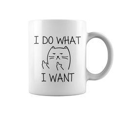 $18 -- I Do What I Want Cat, coffee cups, buy coffee mugs, buy coffee mugs online, custom coffee mugs, mugs online, funny mugs, funny coffee mugs, travel coffee mugs, cool coffee mugs, tea mugs, buy tea mugs online, buy funny coffee mugs online, buy travel coffee mugs, ceramic mugs, white coffee mugs, cool mugs, white mugs, cute mugs, mugs online, unique mugs, insulated travel mugs, mug cup, teacup, personalized mugs, , gift mugs, mug for sale, awesome coffee mug