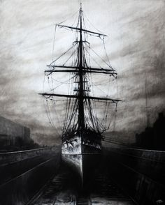 "The ""Cutty Sark"" in dry dock, ryan mutter"