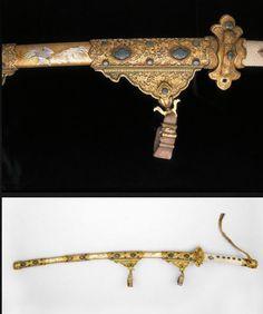 Kazaridachi (Court Sword) and Scabbard Dated: circa 1682, Edo period (1600-1868) Place of origin: Toyama, Japan  Artist/Maker: Masatoshi