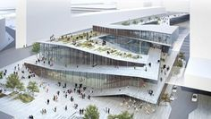 The Japanese architect Kengo Kuma will be building the Saint-Denis Pleyel train station, a project which is part of the ambitious Grand Paris Express (GPE) plan to modernize the existing transport network and connect new neighborhoods. Kengo Kuma, Win Competitions, Design Competitions, Urban Design, Home Design, Design Interior, Landscape Architecture, Interior Architecture, Layered Architecture