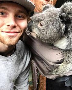 Luke<3 With Koala at The Featherdale Wildlife Park-06/18/16