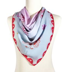 https://www.cityblis.com/4382/item/12520   Butterfly, mellow - Silk Scarf - $133 by Vinge Fashion   - oversized silk chiffon scarf  - this genuine hand drawn pattern is printed on the luxurious silk chiffon fabric with high quality digital printing method  Dimension: 110 cm x 110 cm Material:  100% silk   #Scarves