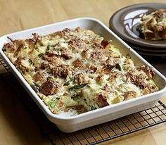 asparagus and fontina breakfast bake