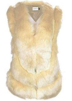 NEW WOMENS LADY WARM FAUX FUR PVC JACKET COAT SLEEVELESS OUTERWEAR WAISTCOAT.