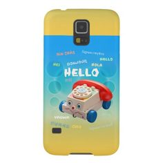 Hello vintage toy phone cover galaxy s5 case retro phone case for the babyboomers