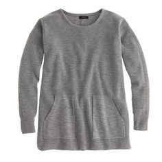 Merino pocket tunic sweater. JCrew. $110