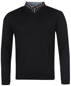 Mens Jumpers, Knitwear, V Neck, Navy, Amazon, Long Sleeve, Sleeves, Mens Tops, T Shirt