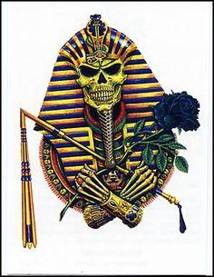 Egyptian Pharaoh Skull