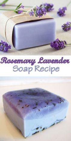 diy beauty Learn how to make homemade soaps from herbs and flowers, including a recipe for rosemary lavender soap. Soap Making Recipes, Homemade Soap Recipes, Homemade Gifts, Homemade Paint, Diy Soap Recipe Without Lye, Diy Soap Base, Cold Press Soap Recipes, Homemade Costumes, Lotion En Barre