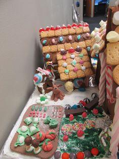Fondant Vegetable Garden - Gingerbread House - Farm scene, Christmas