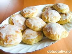 Norwegian Food, Something Sweet, Pretzel Bites, Bread Baking, Baked Potato, Nom Nom, Cake Recipes, Food And Drink, Scones